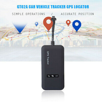 GT02A GPRS Car Vehicle Electric Tracker GPS Locator Real-time Tracking Device