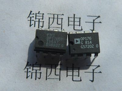 PMI OP176GP DIP-8 Bipolar/JFET Audio Operational Amplifier - $10 00