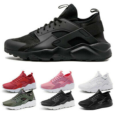 Mens Womens Pumps Trainers Lace Up Mesh Sports Running Casual Shoes Breathable