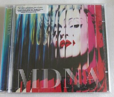 Madonna Mdna 2 Cd Brazil Limited Only 40000 Copies Radio/dj Promotional Cd