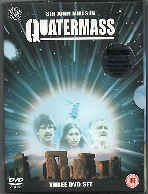 Quatermass :Complete TV Series (3 DVD Box Set) [1979] COLLECTOR'S BOOKLET