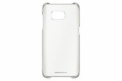 Genuine Clear Cover Case EF-QG935C for Samsung Galaxy S7 edge (Gold)