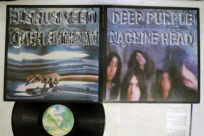 DEEP PURPLE MACHINE HEAD WARNER P-1013W Japan VINYL LP