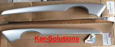 MG Rover MGF MGTF F TF Pair Right & Left Silver Door Liner Card Trims Finishers