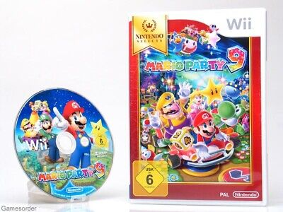 MARIO PARTY 9  - dt. Version -  o  °Nintendo Wii / Wii U Spiel°_ #1
