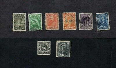 NEWFOUNDLAND.8 x DIFFERENT QUEEN VICTORIA ERA STAMPS GOOD USED.