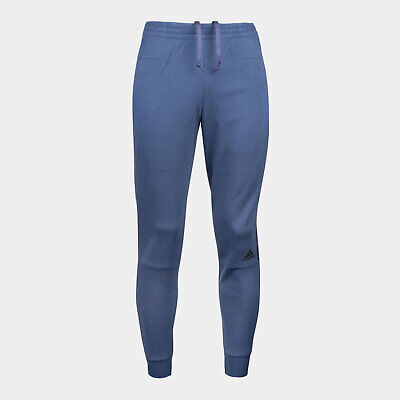 adidas Mens ZNE Tapered Striker Sports Pants Trousers Bottoms Blue