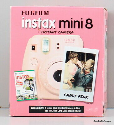 *NEW SEALED*Fujifilm Instax Mini 8 Polaroid Film Camera Pink
