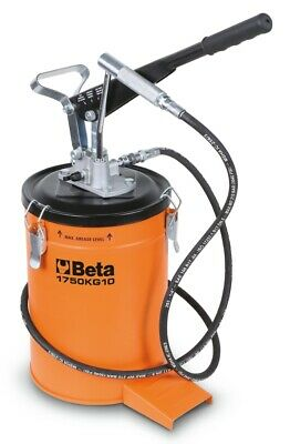 Beta Tools 1750KG10 Lever-Operated Grease Gun 10 kg + 2M High-Pressure Hose