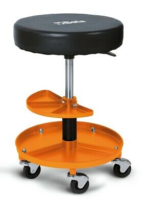 Beta Tools 2250-O Heavy Duty Swivel Creeper Seat with Trays | 022500011