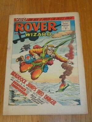 Rover And Wizard 10Th July 1965 Dc Thomson British Weekly Comic*