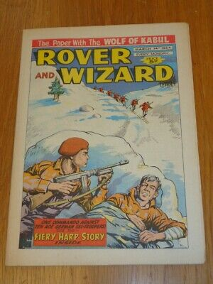 Rover And Wizard 14Th March 1964 Dc Thomson British Weekly Comic*