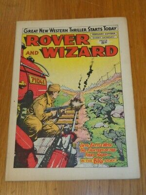 Rover And Wizard 22Nd February 1964 Dc Thomson British Weekly Comic*
