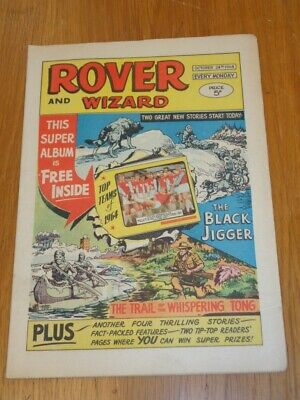 Rover And Wizard 24Th October 1964 Dc Thomson British Weekly Comic*