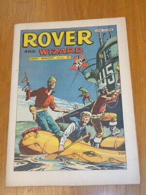 Rover And Wizard 4Th June 1966 Dc Thomson British Weekly Comic*