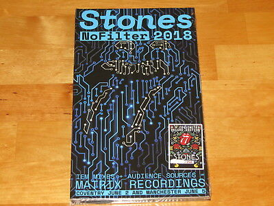 The Rolling Stones - Coventry + Manchester 2018 - 4Cd