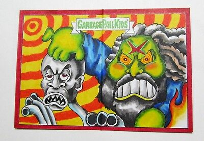 Garbage Pail Kids Sketch Card Rob Zombie Pano Artist Return Ap Rare Scheres Gpk