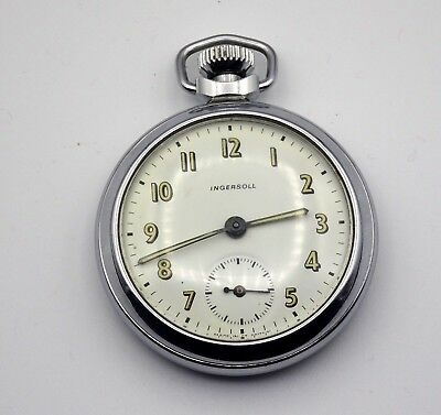 Gent's Vintage Ingersoll Pocket Watch