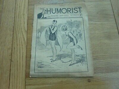 1927 Aug The Humorist Magazine August Holiday Number Original Complete