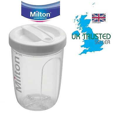 Milton Baby Bottle Steriliser Solo Single Water and Microwave Travel