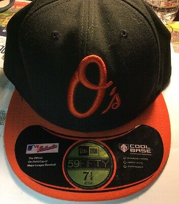 Baltimore Orioles New Era Authentic Collection Vintage Fitted Hat Cap 7 1 4 ed635aebeb99
