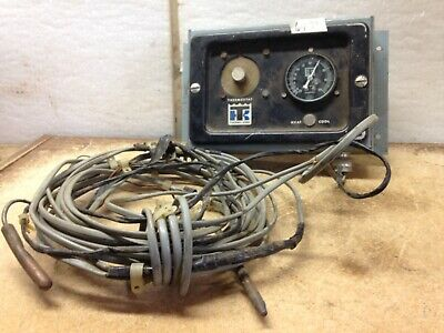 Antique Old Thermo King Thermostat Heat Cool 0-100 Fahrenheit by Marsh Inst.,