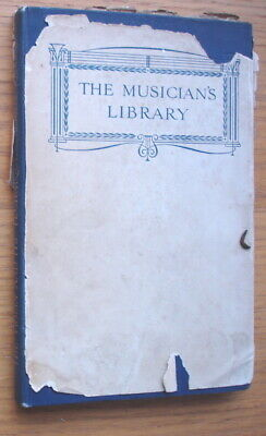 The Violin And Its Technique by Achille Rivarde. The Musician's Library.Pub.1921