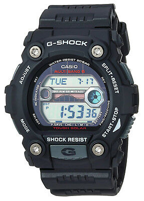 Casio GW7900-1C Men's Black Rescue Multi Band Atomic Solar G Shock Watch