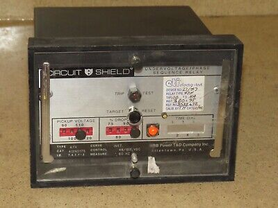 ^^ Abb / Circuit Shield Overcurrent Relay Type 51Y 125V (C)