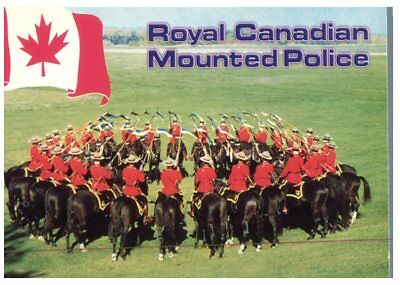 (P 819) Canada - Horse - Cheval - Royal Mounted Police