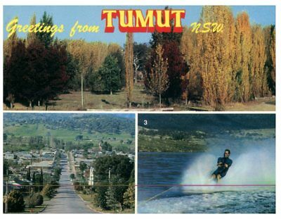 (P 811) Australia - NSW - Tumut and water ski