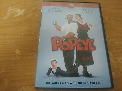 Popeye Robin Williams Shelley Duvall Widescreen Edition Live Action Musical Dvd