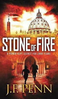 Stone of Fire by J.F. Penn Hardcover Book Free Shipping!