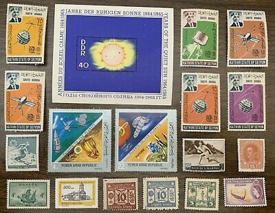 [Lot 335] 50 Different Mint/MH/MNH/MNG Worldwide Stamp Collection