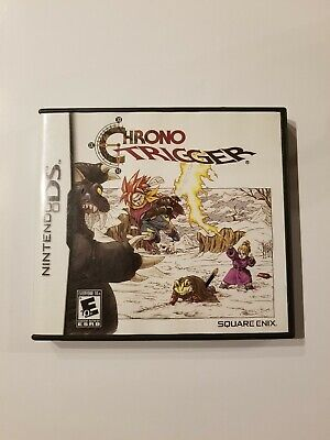 Authentic Chrono Trigger Case and Manual Only NO GAME Nintendo DS Square Enix