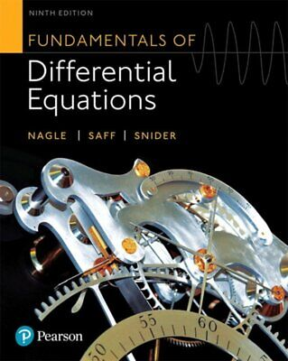 [PDF] Fundamentals of Differential Equations (9th Edition) by Nagle, R. Kent