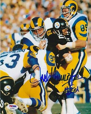 JACK YOUNGBLOOD Signed Autograph Auto 8x10 Picture Photo Los Angeles Rams  PSA 2c63ffebd