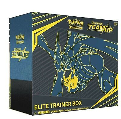 Pokemon TCG: Sun and Moon Team Up Elite Trainer Box 8 Booster Packs Sealed