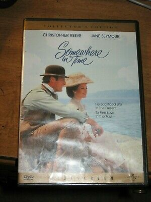 SOMEWHERE IN TIME Collector's Edition DVD SEALED NEW Reeve,Seymour WIDESCREEN