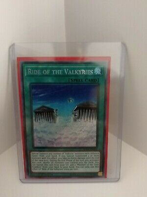 YUGIOH! Ride of the Valkyries SHVA-EN006 - MINT - Secret Rare!