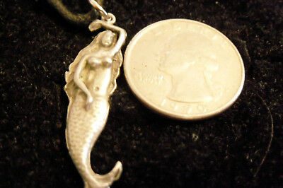 bling pewter beach MYTH mermaid sailboat pendant charm hip hop necklace JEWELRY