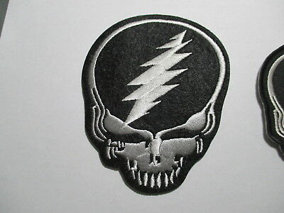 Grateful Dead Patch 3 1/4 x 4 inches Rock Band