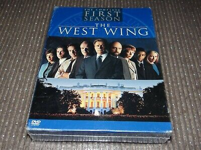 THE WEST WING Complete First Season 1 One (2003, 4-Disc DVD Box Set) NEW+SEALED