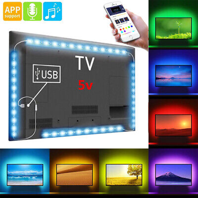 LED TV Backlight Powered RGB USB LED Strip Lights for 40 to 60 Inch HDTV SU245AU