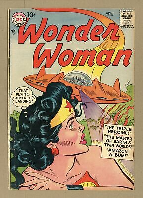 Wonder Woman (1st Series DC) #89 1957 GD+ 2.5