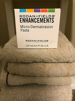 Rodan and Fields ENHANCEMENTS Micro-Dermabrasion Paste 4.2oz Full - New in Box