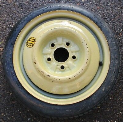 "Honda Civic 2005-2011 15"" Space Saver Spare Wheel And T115 70 D15 90M Tyre. #32."