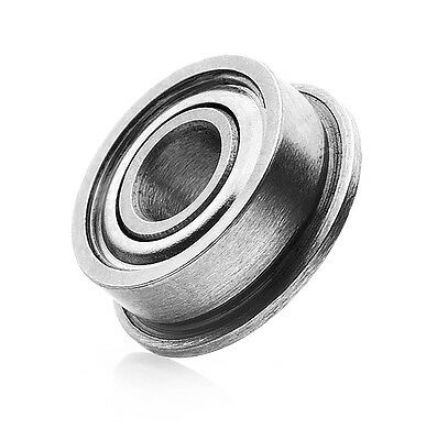 ROULEMENT A BILLES EPAULE 6X10X3 MF 106 ZZ (1pc) BEARING RODAMIENTO FLANGED RC