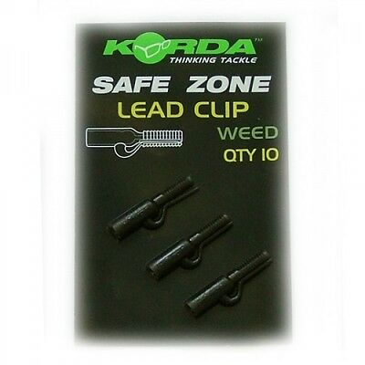 Korda Safety Lead Clips Weed