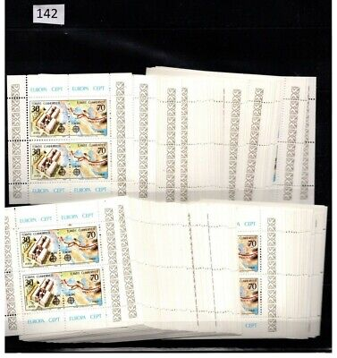 !! Turkey 1982 - Mnh - Europa Cept - 100 Sheets - 200 Sets - Map, Arhitecture